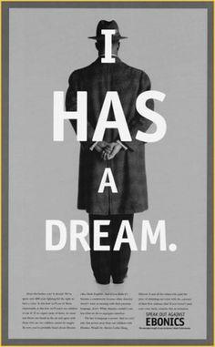 5363651693_77aaf6a8f0_o.jpg 400×645 pixels #ebonics #dream #poster