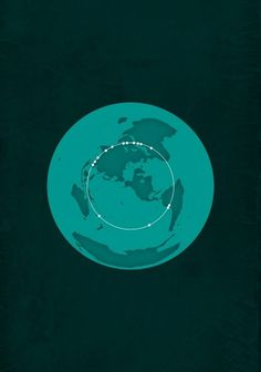 All sizes | The Great Circle | Flickr - Photo Sharing! #infographic #design #paukner #info #poster #michael