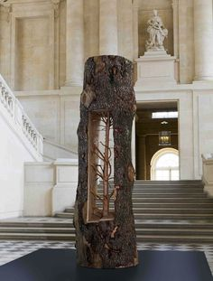CJWHO ™ (Giuseppe Penone | Incredible New Tree Sculptures...) #penone #sculpture #tree #installation #design #wood #art #versailles #giuseppe