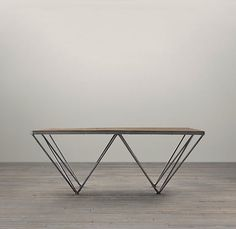 TRIBECA SQUARE COFFEE TABLE #steel #frame #table