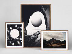 Shop Daniel Siim #illustration #wood #posters #frame
