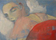 'Sleeping Series'by Andie Dinkin #painting #art