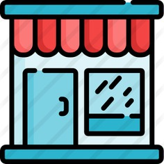 See more icon inspiration related to commerce and shopping, store, buildings, shop, business and restaurant on Flaticon.