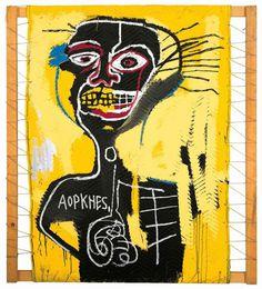 Jean-Michel Basquiat #cabeza #1982