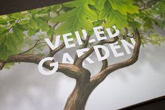 Chelsea Flower Show 2013 on Behance #typography #tree