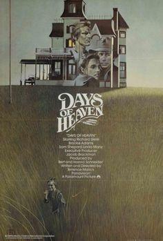 Days of Heaven Poster #typography #poster #film #typog
