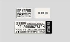 De Kreun branding
