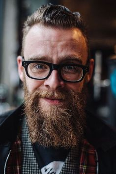 Dave by Roo Lewis #glasses #headshot #beard #lewis #portrait #roo #portraiture