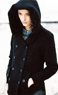 Laurel Alpaca Wool Coat #coat