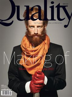 Johnny Harrington for Quality Magazine, March 2011 | Meets Obsession Magazine #cover #masthead #magazine
