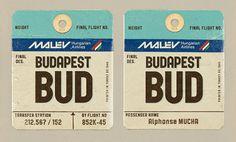 Malév #budapest #malev #design #hungary #logo
