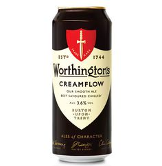 Worthington's #beer #can #beer design #packaging #can design #beer can design
