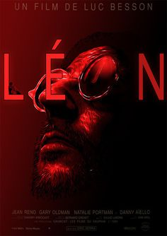 Leon Poster #minimal #creative #design #inspiration #movie #poster