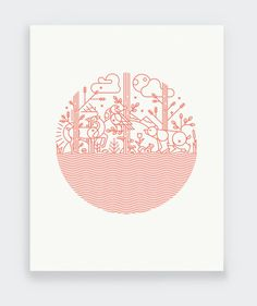 Regrow by Keenan Cummings— Print Aid NYC #illustration