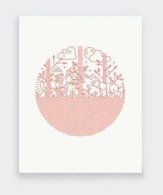 Regrow by Keenan Cummings  — Print Aid NYC
