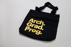 Inhouse | Arch.Grad.Prog. #canvas #tote #print #screen #bag