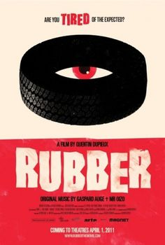 Rubber Poster - Internet Movie Poster Awards Gallery #minimalist #poster #film