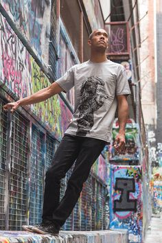 Leo Tee by Marlo Guanlao for Home Grown Collective