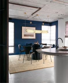 Dark Hues at Sydney Apartment by Studio Amber Road - InteriorZine