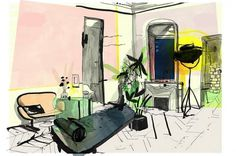 PMA Associates #paris #patrick #illustration #habitat #morgan