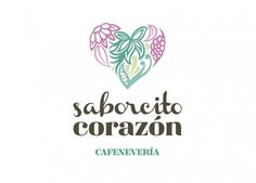 Más tamaños | Saborcito Corazón, cafenevería. | Flickr: ¡Intercambio de fotos! #heart #cream #identity #logo #ice #organic #flowers #corazon