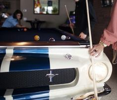 1965 Shelby GT-350 Pool Table #gadget