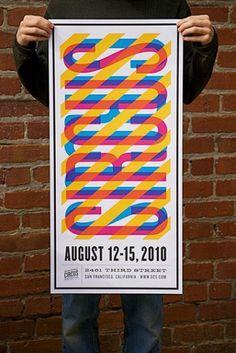 Nathan Godding #poster #typography