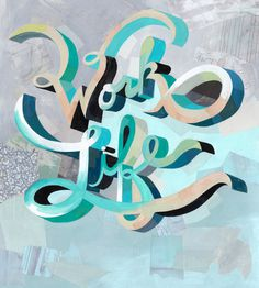 Darren Booth #type #illustration