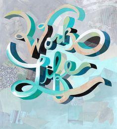 Darren Booth #type #illustration