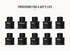 Commodity. 10 fragrances for men.