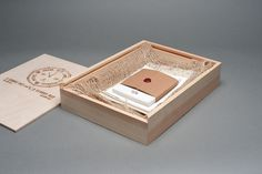 Graphic-ExchanGE - a selection of graphic projects #wood #box