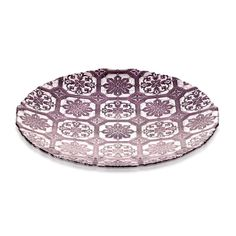 Bowl Safi Glass Purple 40cm