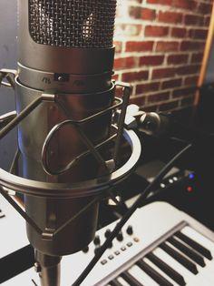 Let them hear. #mic #keyboard #photo #sound #music