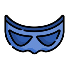 See more icon inspiration related to mask, superhero, fictional character, heroe, accessory, character and fashion on Flaticon.