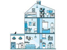 My Home #illustration
