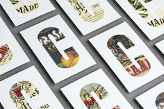 Can Cisa grocer's shop —Lo Siento #typography #business card #card #lo siento