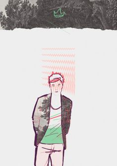 Untitled Man - leciel #illustration
