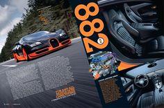 Gas Creative Print #fastest #veyron #worlds #spread #car #magazine
