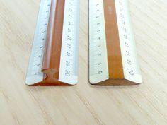 Old Drafting Ruler #wood #ruler