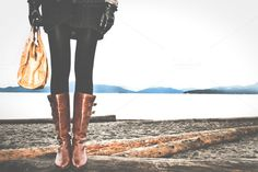 Beachy Fashionista ~ Beauty and Fashion Photos on Creative Market