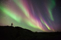 Northern Lights by Dave Brosha