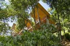 Exotic Wooden House Exhaling Life and Energy in Costa Rica #architecture #house
