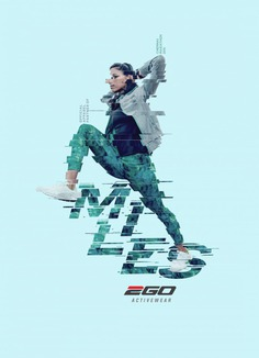 Ego Print Advert By Bates: Miles – Warmup, 2