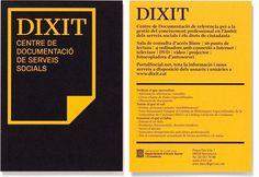 Txell Grà cia / Dixit, Centre de Documentació de Serveis Socials #design #graphic #gracia #dixit #identity #logo #postcard #txell
