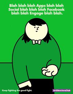 Hello   The Indigo Bunting: Art director humor