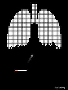 Quit Smoking « Boo Ya Pictures #retro #8bit #video game #smoking