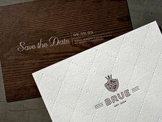 Wedding Invitation - Nick Brue #print