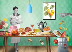 Sonia Roy / The Walrus Discover this great article on food waste in the Walrus magazine of October illustrated by Sonia Roy.