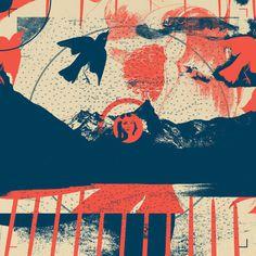 Fragments Tile 11/12 Art Print