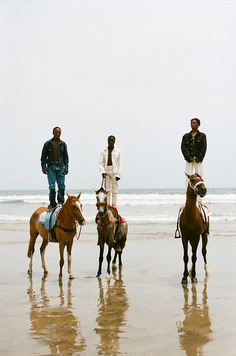 Horsing in Ghana for Helmut Lang - Fucking Young!